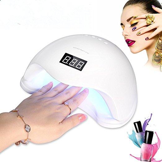 48W LED UV Nail Lamp Light Dry for All Gel Nails polish $19.5