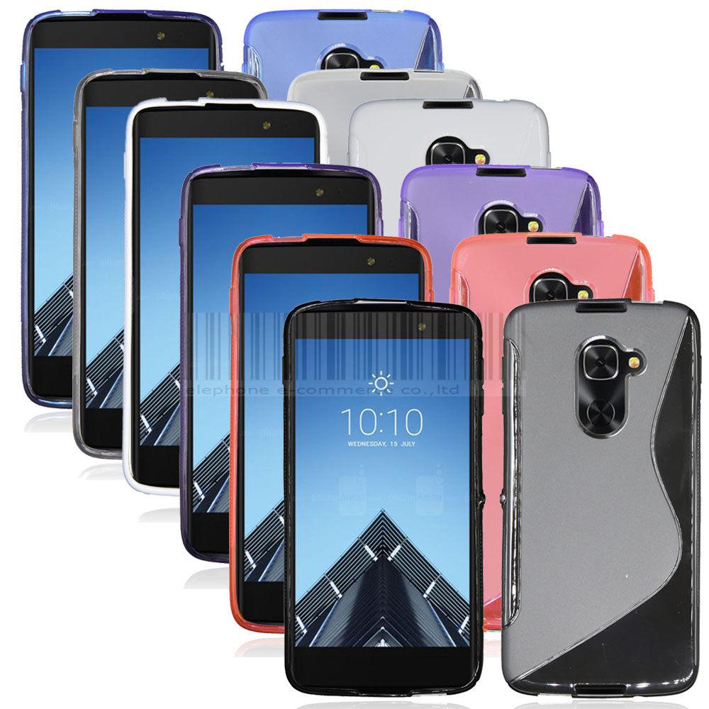 Flexible, Soft, TPU, Shockproof, Slim Case for Alcatel Idol 4S Phone $1.61