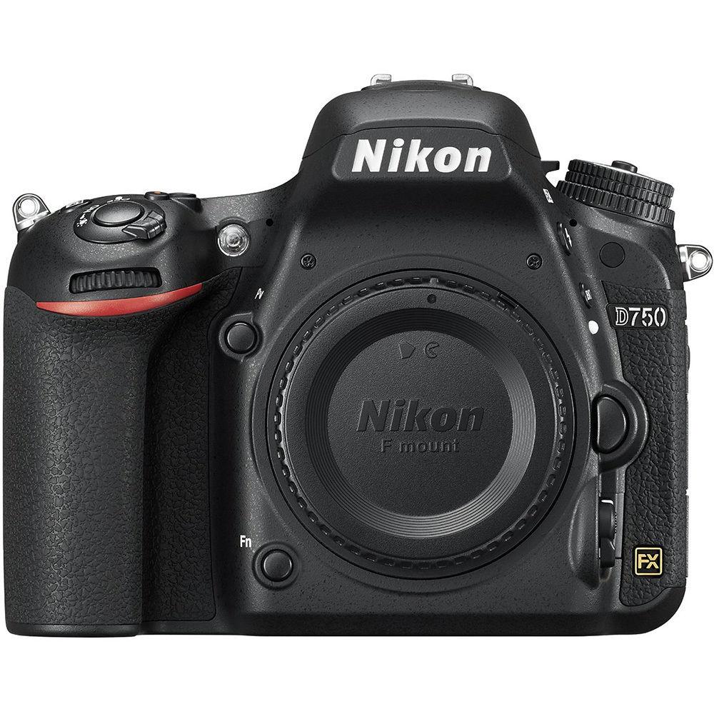 Nikon D750 DSLR 24.3MP HD 1080p FX-Format Digital SLR Camera (Body) -Refurbished   +Free Google Home Mini    $1200