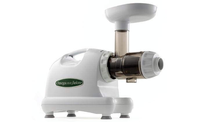 Omega Commercial Masticating Juicer 80rpm-3600rpm J8004 $164 @ Groupon refurb
