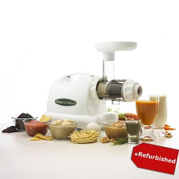 Omega Commercial Masticating Juicer 80rpm to 3600rpm $139 @ BJS Refurb + Free Shipping $139.99