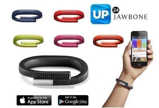 Jawbone UP24 Fitness Tracker Band – 2 Pack $19 @ Yugster $19.97