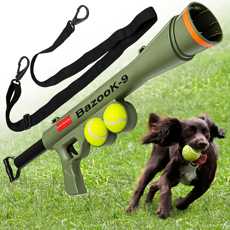Dog tennis ball launcher w/ 2 squeaky toy balls - $9 free ship @ Sams Club $9.81