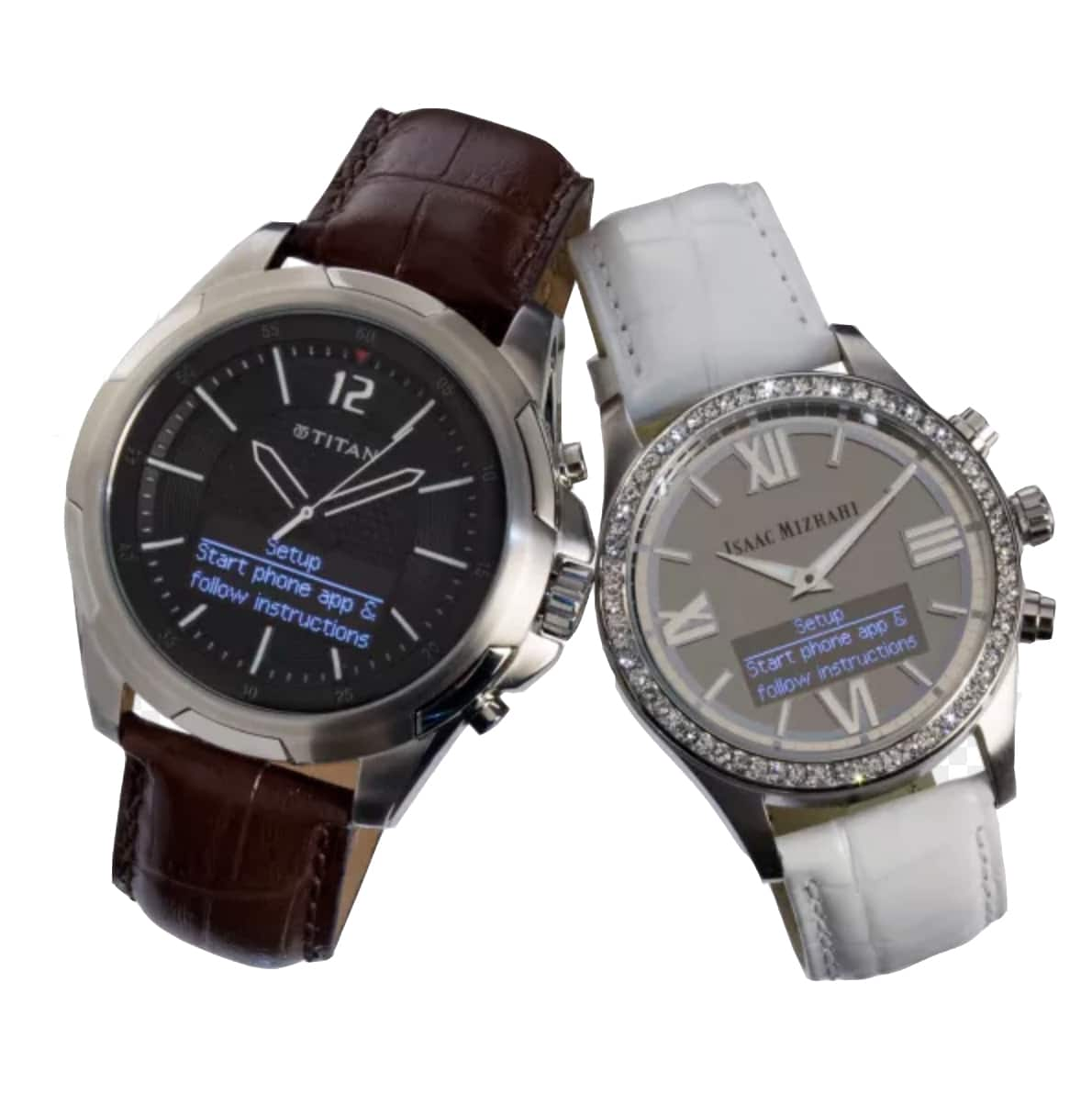 Isaac Mizrahi & Titan Men's & Women's HP Smartwatch for Android & iOS $39 @ meh