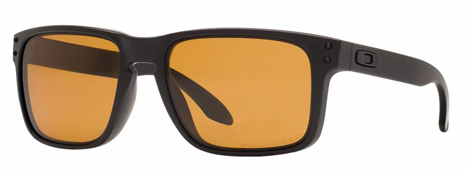 66e883a78d Oakley Holbrook Polarized Sunglasses in Matte Black Bronze  69 + free  shipping   BJs  69.99