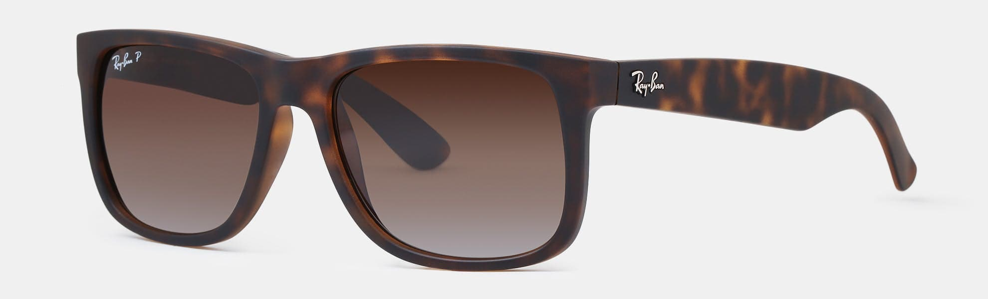 3ada3a1ce ... sale ray ban justin polarized rectangular tortoise brown sunglasses  79.99 free shipping massdrop a8bdc 5bda8