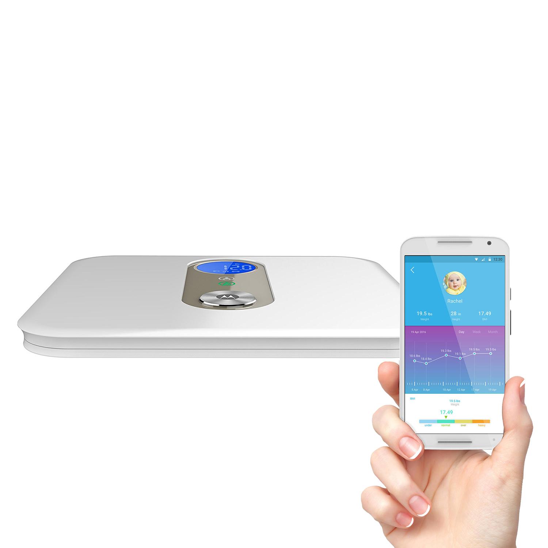 Motorola Bluetooth Smart Scale w/ free APP $19 + free shipping @ PC Mag Shop