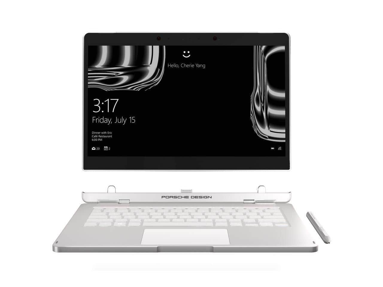 "Porsche 2-in-1 Laptop w/ Core i7, 16GB, 512GB, 13.3"" Touch, Win10 $1299 + free shipping @ Newegg"