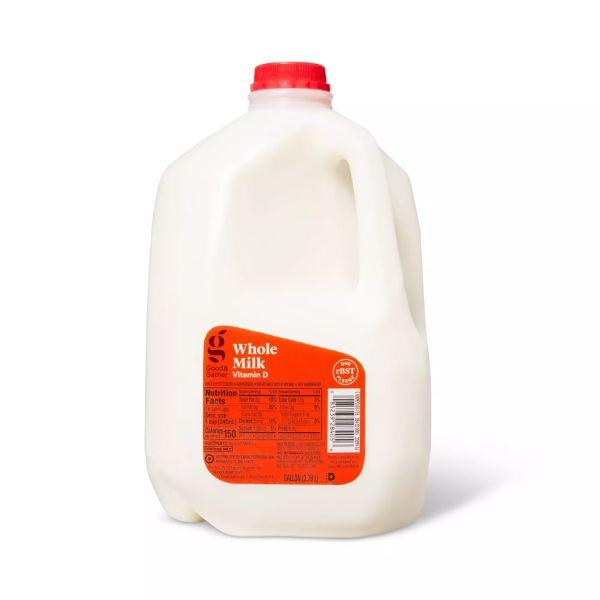 Target Vitamin D Whole Milk - 1gal - Good & Gather™ $0.75 Store Pickup YMMV