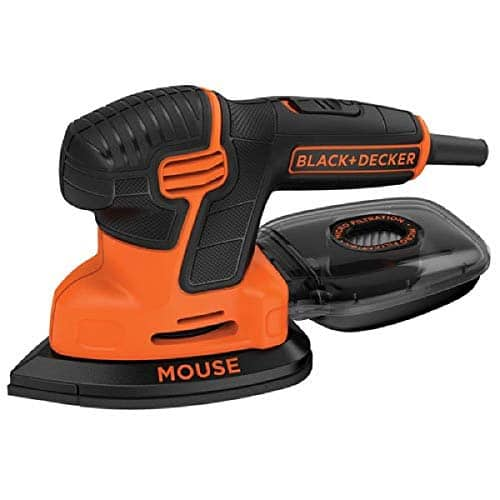 $27.99 BLACK+DECKER Mouse Detail Sander, Compact Detail (60% off), Ends in 4 hours