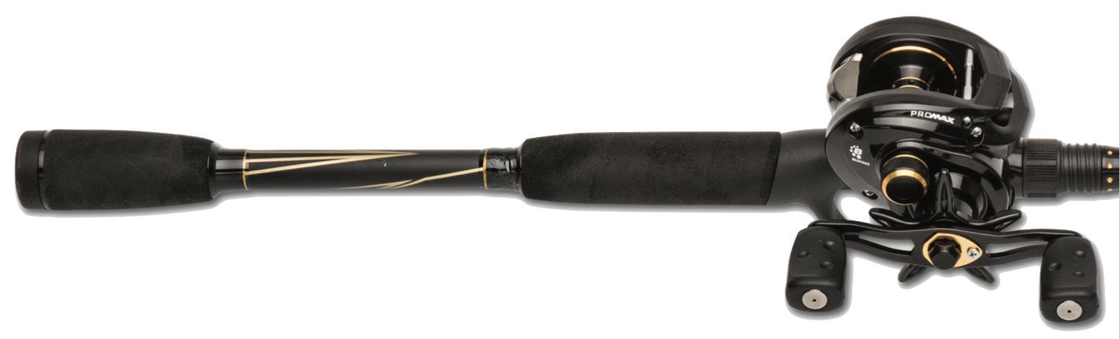 Abu Garcia Pro Max Low Profile Baitcast Reel and Fishing Rod Combo $54.91 at Walmart