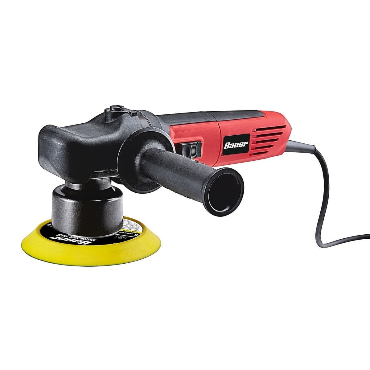 BAUER 6 In. 5.7 Amp Heavy Duty Dual Action Variable Speed Polisher $49.99