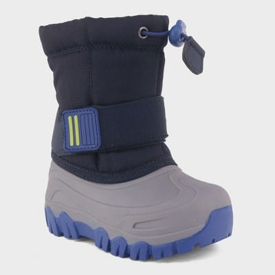 Toddler Boys' Barrett Winter Boots - Cat & Jack™ Navy 4 on clearance at Target B&M for $8.08. YMMV $7.98