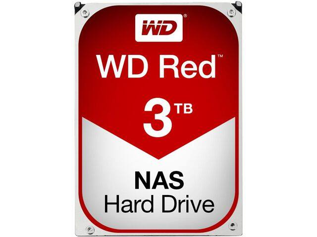 Newegg - 2x WD Red 3TB NAS Hard Disk Drive WD30EFRX - $194.99