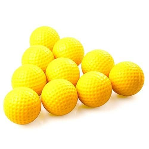 Practice Golf Balls, Foam, 12 Count, Yellow - $6.99 AC