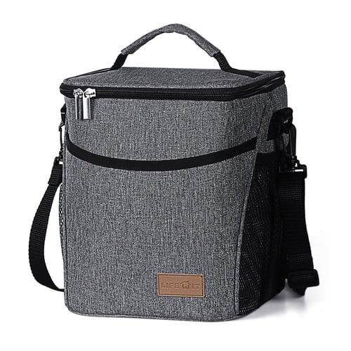 Insulated Lunch Box Lunch Bag, Large Capacity Thermal Bento Bag, 9L - $14.99 AC