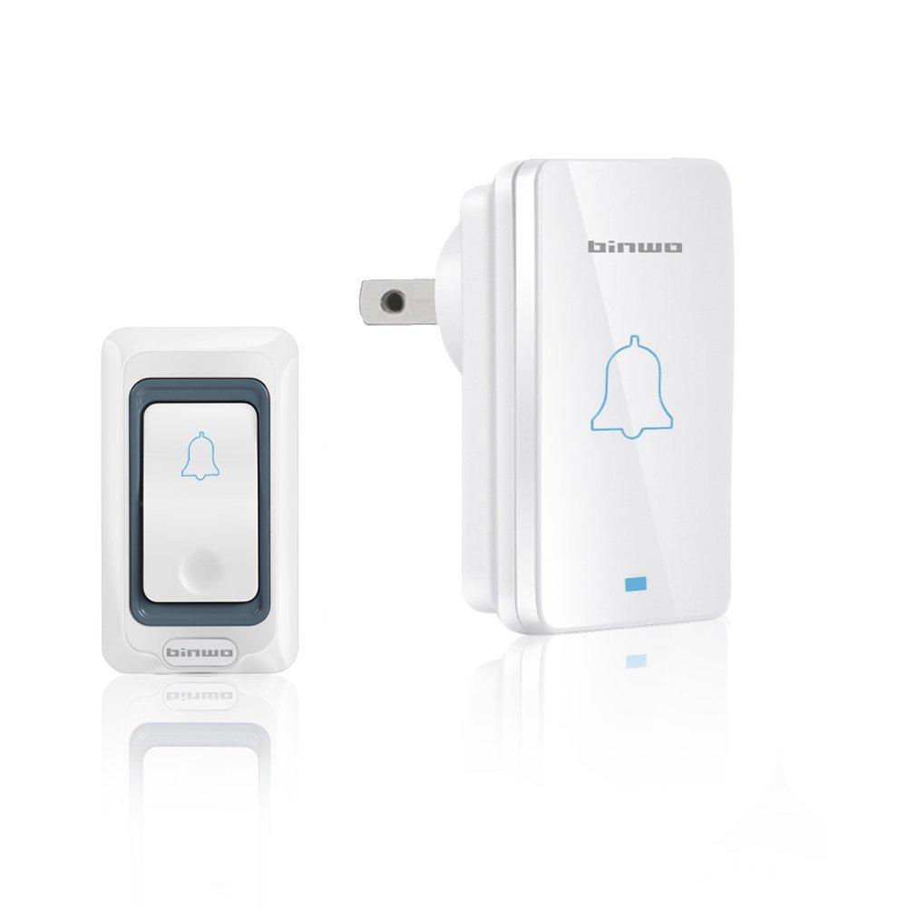 Wireless Doorbell, Waterproof Power-Saving Door Bell Kit - $9.59 AC
