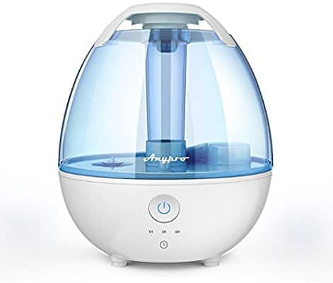 Anypro 2L Ultrasonic Cool Mist Humidifiers $24.78 AC/FS - Amazon