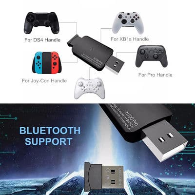 Coov N100 Pro USB Controller Converter Adapter Switch for Ds4 NS Pro Joy-con - $17.99+FS