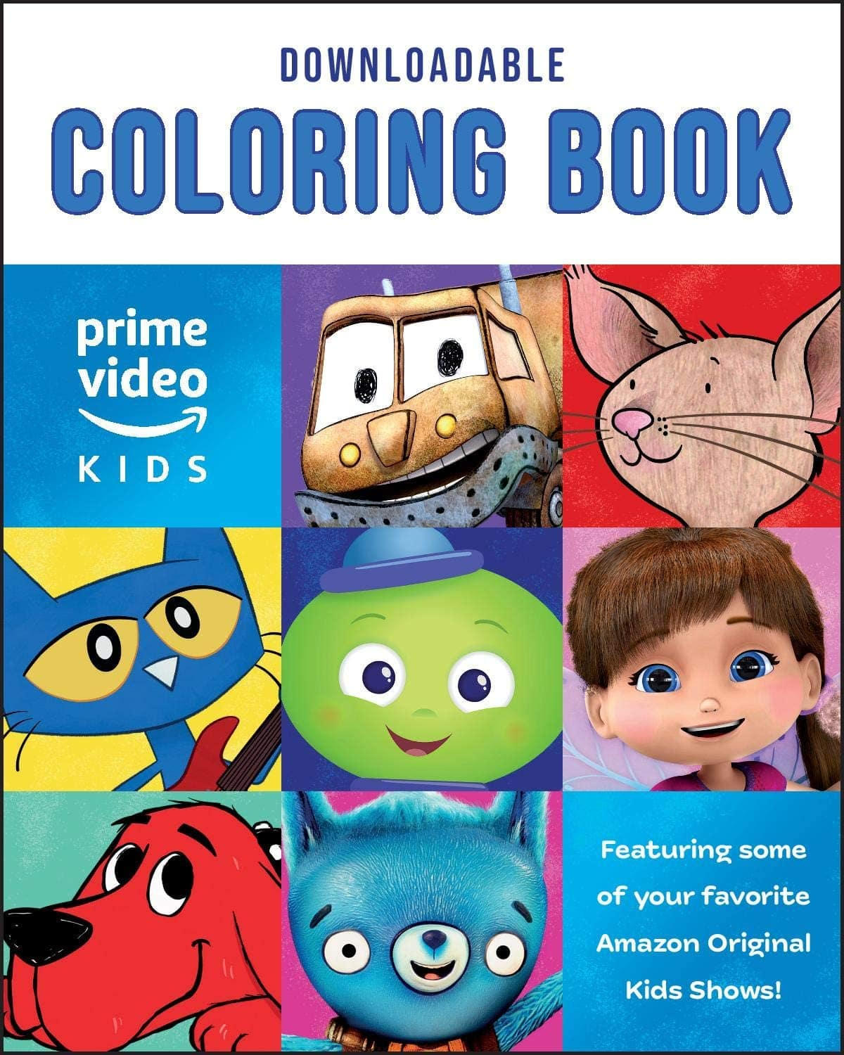 Amazon - FREE Amazon Original Kids Shows Downloadable Coloring Book [PC/Mac Download]