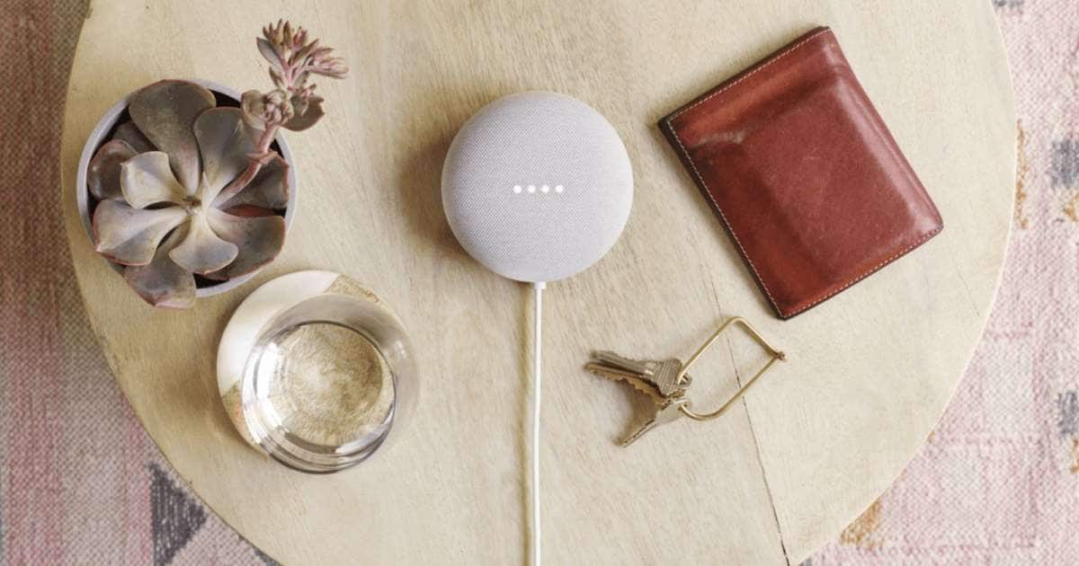 PSA-Free Google Nest Mini after completing a stay through booking.com