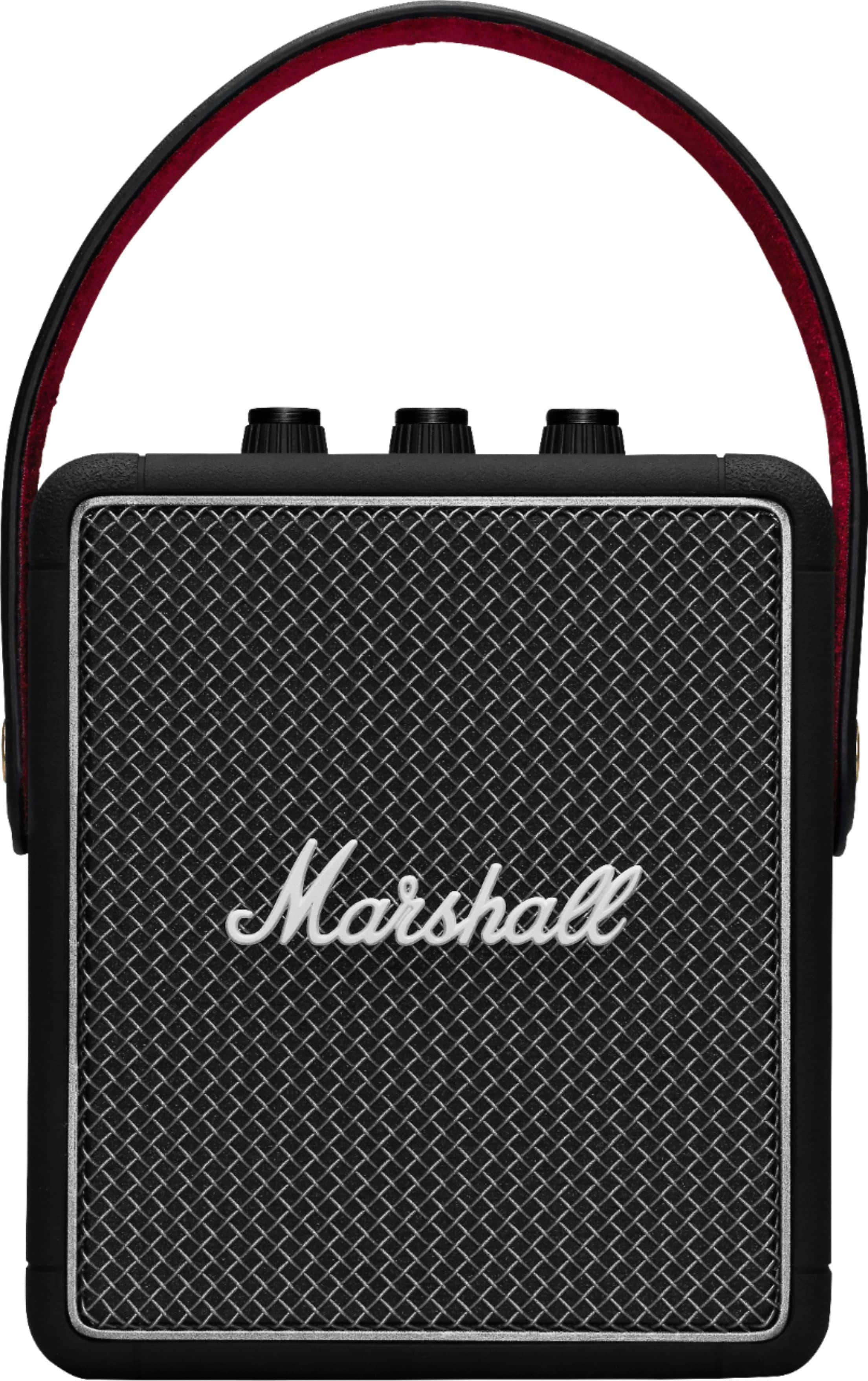 Marshall - Stockwell II Portable Bluetooth Speaker - Black $129.99