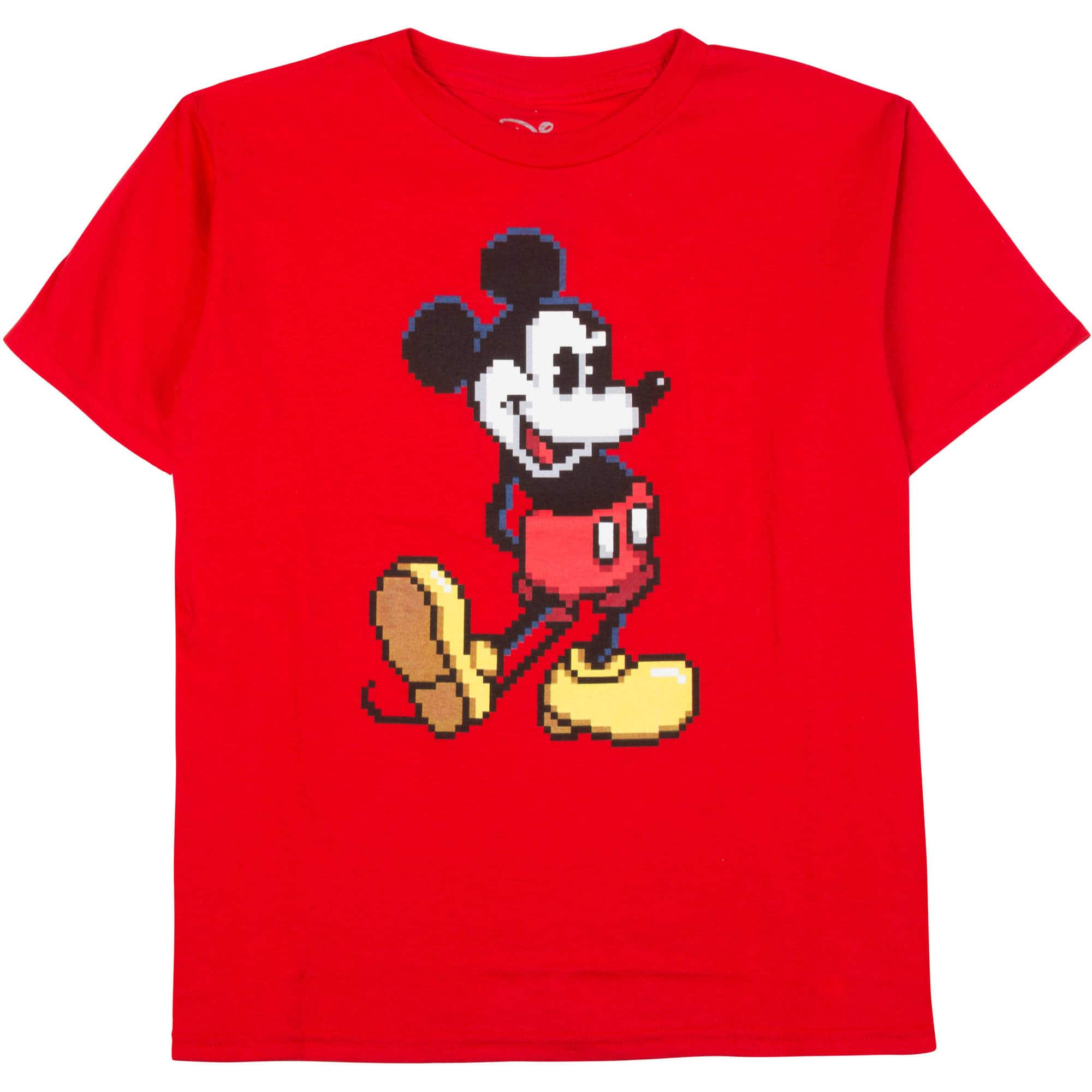 Disney Boys Mickey Pixel Tee @Walmart $3