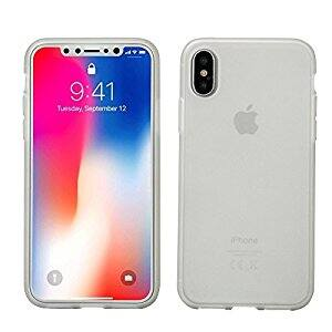iPhone X case, AnsTOP Soft Matte Silicone Gel Rubber Ultra Slim Anti-scratch Shock Absorbing Protective Cover for $2.70 + FS