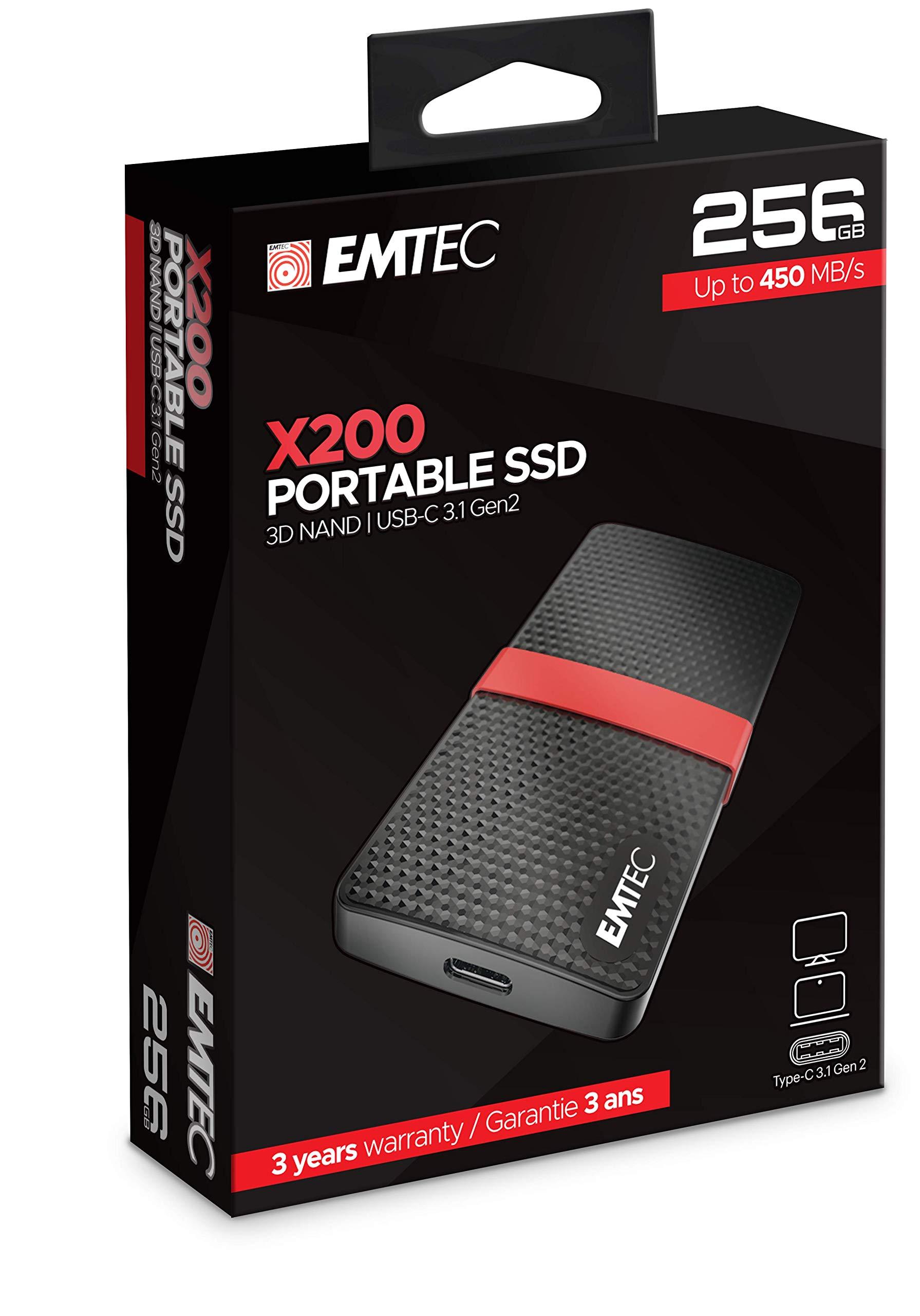 (YMMV) Emtech 256 external SSD, $11.47 at Walmart