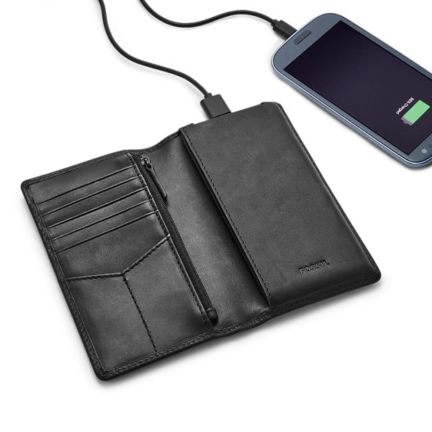 Fossil charging wallet $25.00