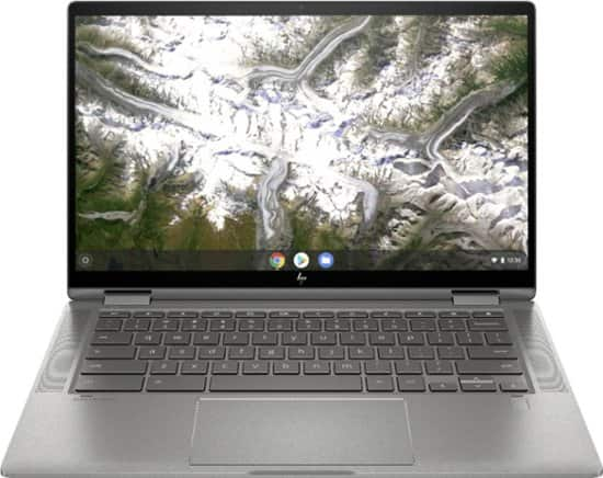 "HP 2 in 1 Chromebook 14"" Touch Screen Intel core i3 8gb ram 64gb eMMc storage $399"
