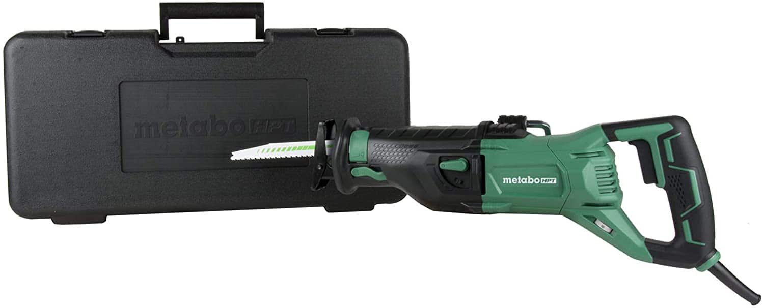 Metabo HPT CR13VST 11 Amp Corded Reciprocating Saw with case $59