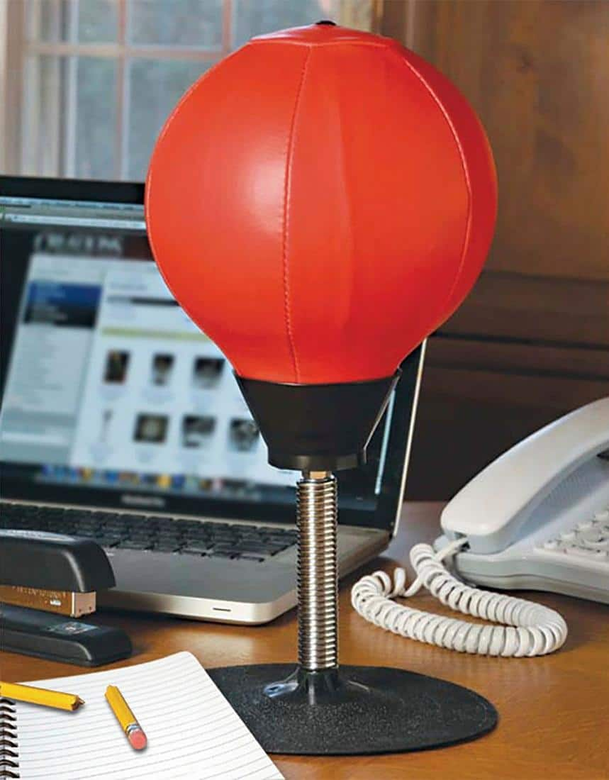 Tabletop Punching Bag - $11.99 at Best Buy