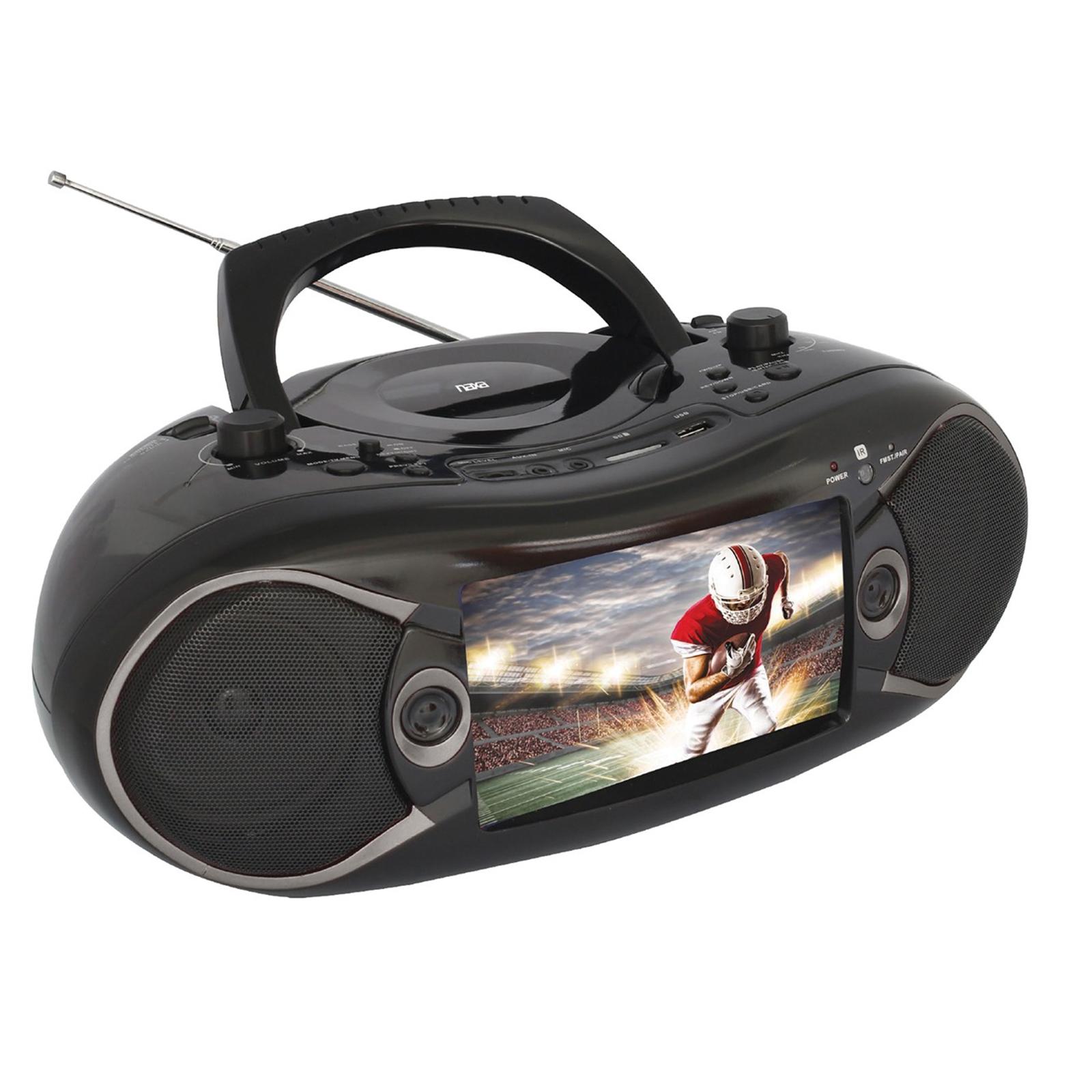 Naxa Boombox with TV/DVD/Bluetooth - $125.99 at Walmart