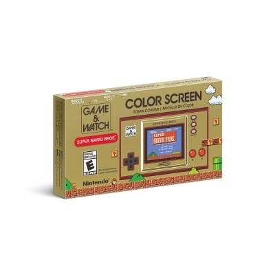 Nintendo Game & Watch Super Mario Bros. - Available for store pickup at Target $49.99