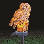 Solar Owl Garden Stake $13 Shipped