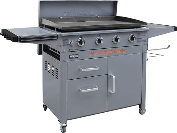 """YMMV - Blackstone 36"""" Pro Series Outdoor Griddle with Hard Cover $250 @ Walmart"""