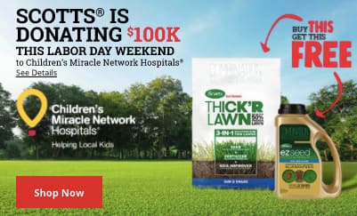 Buy Scotts Thick'r get EZ seed free at Ace Hardware