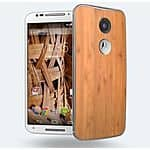 Refurbished Verizon Moto X 2014 XT1096 GSM Unlocked White/Bamboo $175