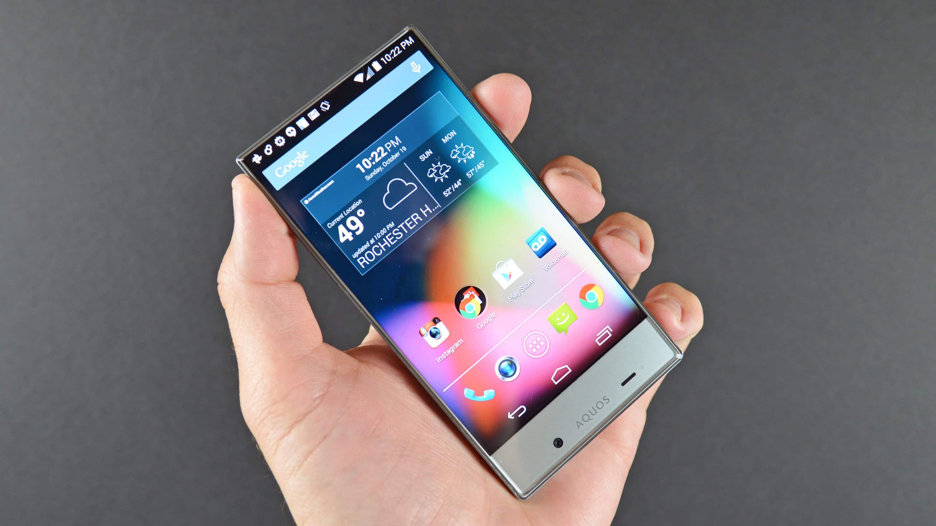 Sharp Aquos Crystal (Refurbished) $4.99 from Textnow YMMV
