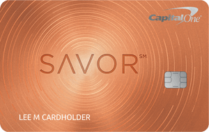 Savor Rewards Credit Card $150 cash bonus with 3% unlimited cashback on dinning