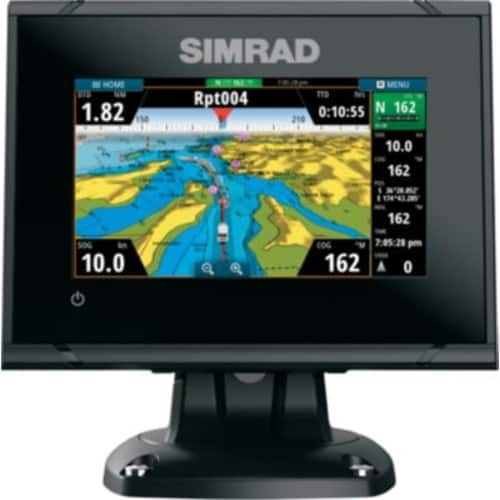 Simrad GO5 XSE with MED/HI/DownScan Transducer - Fish Finder Chart Plotter with Transducer - Free Shipping - After $100 Rebate $220