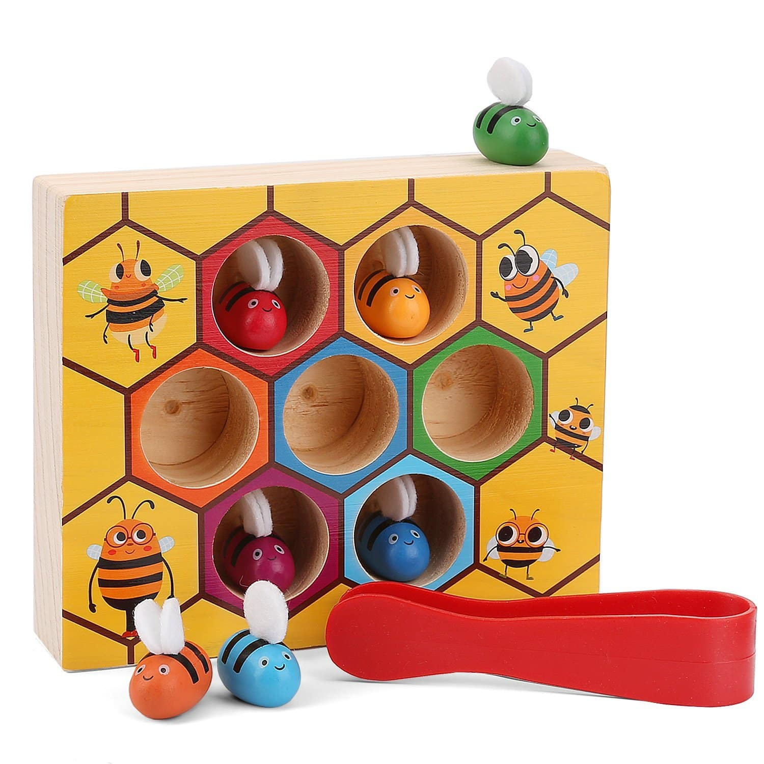 Toddler Bee Hive Preschool Wooden Toys for $9.99 @Amazon