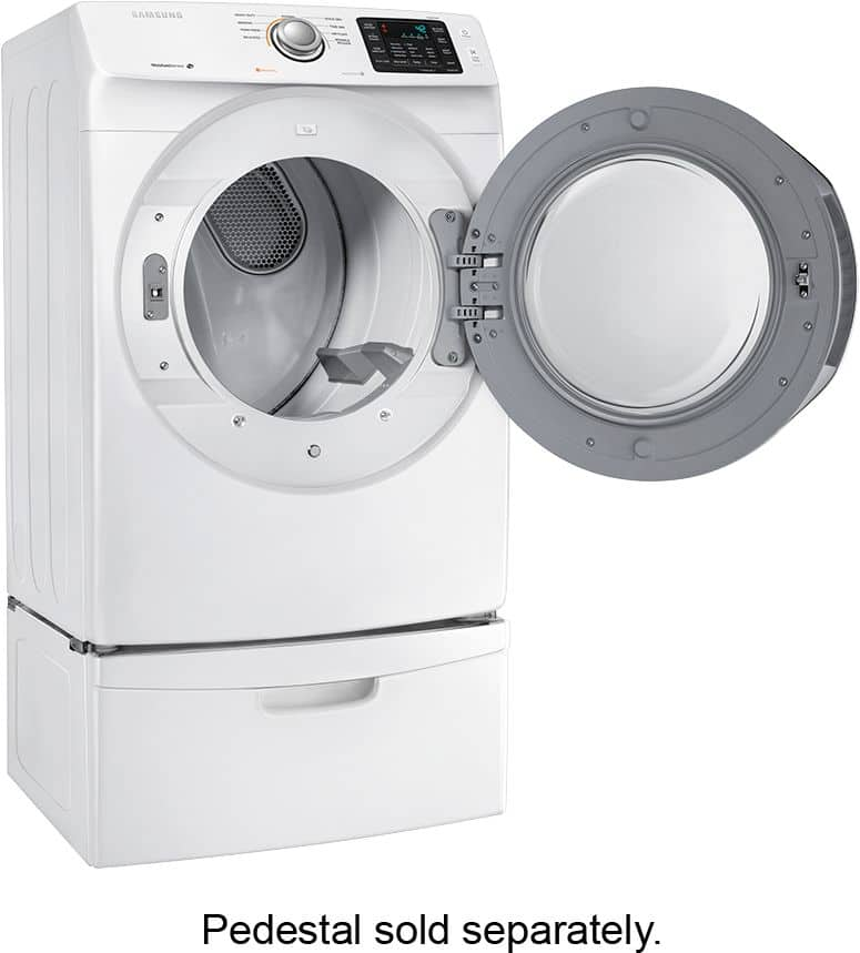 Samsung 7 5 Cu Ft 9 Cycle Gas Dryer White 549 99 Msrp 809 99