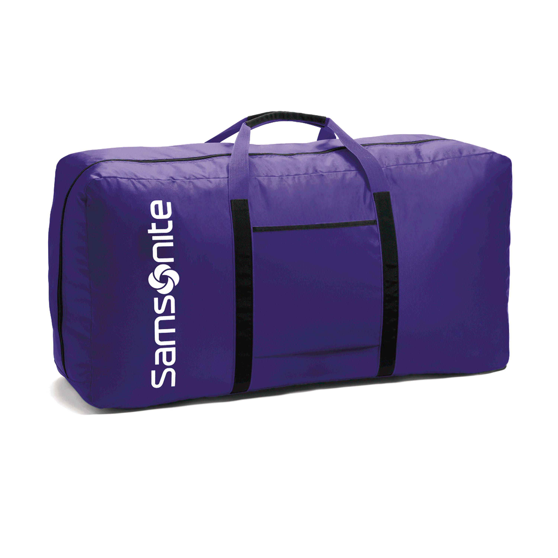 "Samsonite Tote-A-Ton 33"" Duffle Bag (Purple or Turquoise) for $17.99 + FS"