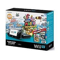 eBay Deal: Wii U 32GB Black Deluxe Set w/ Super Mario 3D World & Nintendo Land $269.99 w/ free shipping @ Ebay via Buy.com