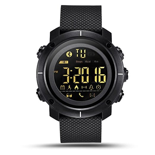 Men's Smart Watch IP68 Waterproof Sport Smartwatch with LED Backlight for $18.84 @Amazon