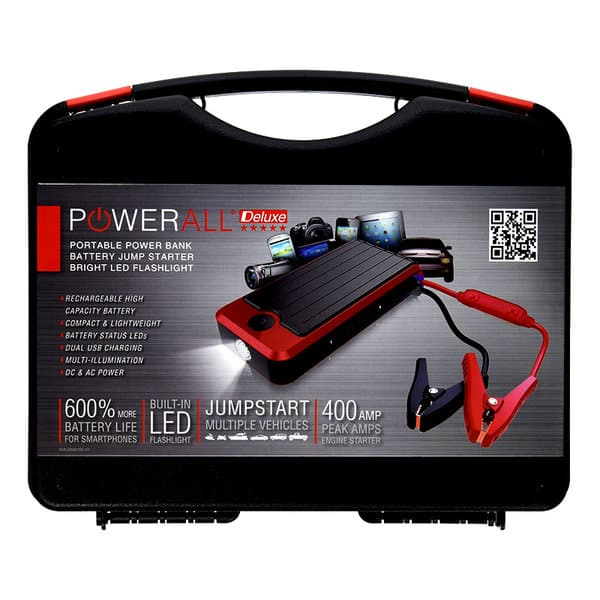 PowerAll PBJS12000R Rosso Red/Black Portable Car Jump Starter - $69.99 + free shipping