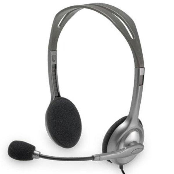 Logitech H110 Stereo Headset with Noise-Cancelling Microphone - $6.99 + Free shipping