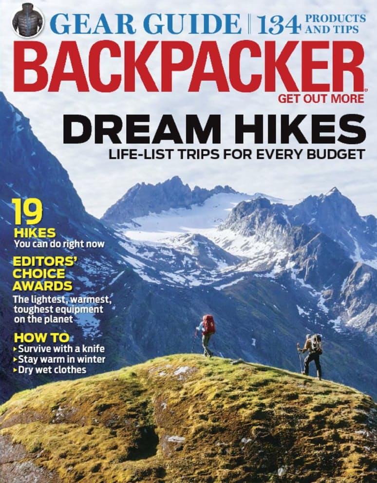 Magazines: Backpacker or Outside - $4.99 FS